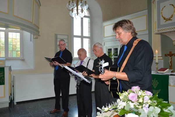 Friedensandacht in Calbecht, 31.08.2019
